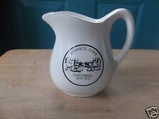 USA Marked Reinbeck, Iowa, Centennial 1876-1976 Creamy White Advertising Creamer
