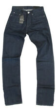 Armani Exchange A/X Mens J66 Low Rise Straight Leg Indigo Jeans Pants New 28 32