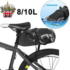 8/10L Bike Cycling Saddle Outdoor Pouch Back Seat Bag Basket Bicycle Racing Bag