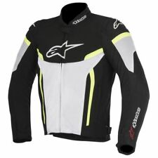 Alpinestars T-GP Plus R V2 Air Black White Yellow, Motorcycle Jacket, NEW!