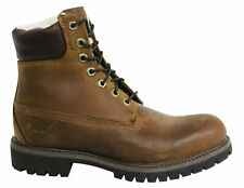 Timberland Premium 6 Inch Lace Up Brown Leather Mens Boots 6066R T2