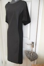 ladies NWT Simply Be uk size 32 black & grey stretch silhouette shift dress