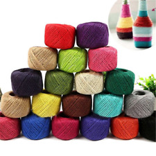10/50 Metres Natural Jute Rope Jute Twine Rustic String Cord Rope DIY String One