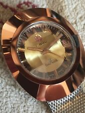 FOR PARTS OR REPAIR: 1970s Vintage Rado Balboa V Men's 25j Automatic Watch