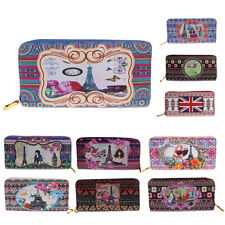 Ladies Flower Long Wallet Women Purse Clutch Bags Card Phone Holder Handbag