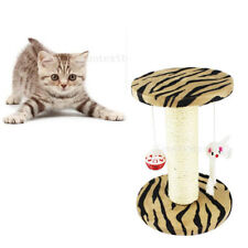 Sisal Cat Scratching Post Play Toy Activity Center Funiture House Cat Scratcher