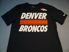 Nike Denver Broncos Team Stripe LARGE, EXTRA LARGE BRAND NEW t-shirt XL athletic