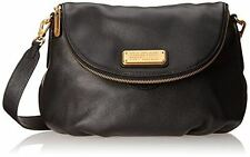 NEW - Genuine Pebbled Leather Cross-Body Bag in Black - Mark Jacobs Original