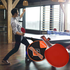1 PC Rubber Table Tennis Racket Ping Pong Paddle Bat Training Game
