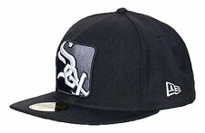 New Era Chicago White Sox Mlb 4corners 59fifty Fitted Cap {Brand New}