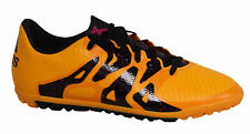 Adidas X 15.3 Junior TF Astro Turf Lace Up Orange Football Boots S74663 U104