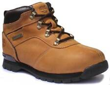 Timberland A12YW Splitrock 2 Youth Nubuck Leather Wheat Hiker Boots