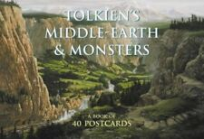 Tolkien's Middle-earth and Monsters: A book of postcards 0007142595 The Fast