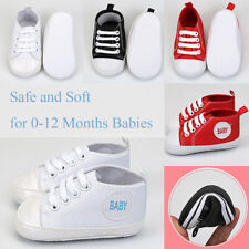 Baby Shoes Crib Boy Girl Infant Toddler Kids Festive Gift ,Red (0-12 Months)