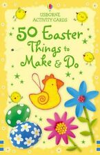 50 Easter Things to Make and Do (Usborne Activity Cards) by Various 0746078943