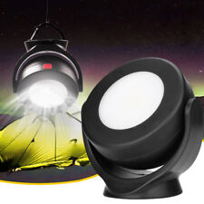 Portable COB LED Outdoor Work Light Camping Inspection Lamp Magnetic Hook