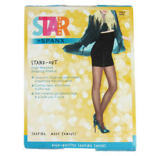 NEW SPANX Star Power Stand-Out High-Waisted Shaping Sheers Black Size C & E