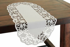 Xia Home Fashions Somerset Embroidered Cutwork Table Runner
