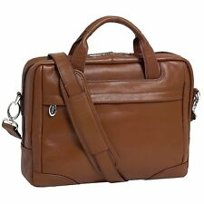 "McKlein USA S series BRONZEVILLE Leather Medium 15.4"" Laptop Briefcase"