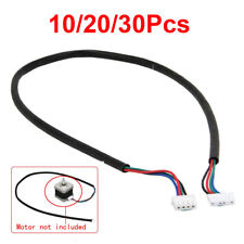 10/20/30Pcs 3.3Ft 4-wire NEMA17 Cable For Stepper Motor Shaft 5mm CNC Makerbot