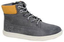 Timberland Groveton Leather Chukka Lace Up Zip Up Youths Boys Boots A18PI D12