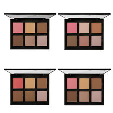 6 Colors Shimmer Matte Blush Powder Palette Face Blusher Contour Makeup