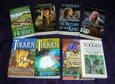 J.R.R. TOLKIEN lot 8 pb Lord Rings Movie covers much more free shipping