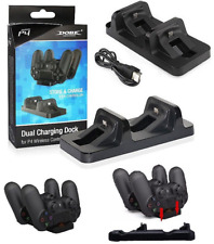 Charging Dock Dual USB Stand Station Holder for Playstation PS4 Controller New J