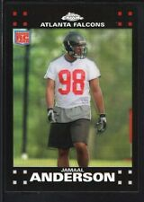 JAMAAL ANDERSON 2007 TOPPS CHROME #230 RC ROOKIE REFRACTOR FALCONS SP RARE