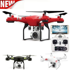 New 2.4G Quadcopter RC Drone WiFi FPV Helicopter 2MP HD Camera Altitude Hold Hot