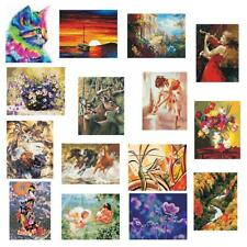 Frameless Oil Painting Paint By Numbers Kit Drawing On Canvas DIY Home Decor