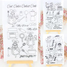 DIY Clear Rubber Stamps Silicone Seal Scrapbooking Album Card Decor Diary NEW