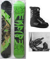 """NEW EMPIRE """"ZERO ONE"""" SNOWBOARD, BINDINGS, BOOTS PACKAGE - 163cm"""