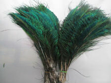 20- 100Pcs Natural Peacock Sword Feathers 12-14inches/30-35cm For Craft
