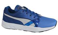 Puma XT S Blur Mens Blue Lace Up Trainers Running Shoes 359713 04 M2