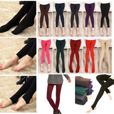 Sexy Lady Women Winter Warm Leggings Casual Cotton Seamless Thick Footless Pants