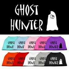 Ghost Hunter Screen Print Dog Cat Pet Puppy Halloween Shirt