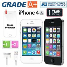 Apple iPhone 4S 16GB Factory Unlocked Sim Free Mobile Smartphone - Grade A+ US