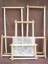 Tapestry lap frame Embroidery Cross stitch Scrolling bars Easy wing nuts
