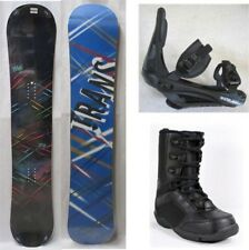 """NEW TRANS """"STYLE BLACK"""" SNOWBOARD, BINDINGS, BOOTS PACKAGE - 141cm, 146cm, 152cm"""