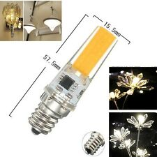 1-10pcs COB 7W E11/E12/E14/E17 Led light lamp Dimmable bulb 110/220V White/Warm