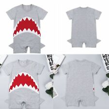 Toddler Infant Baby Boys Short Sleeve Cotton Romper Jumpsuit Bodysuit Clothes