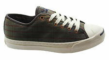 Converse Jack Purcell JP Ltt OX Green Canvas Mens Low Trainers Lace 132763C P1