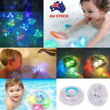 LED Light Color Changing Kids Bathing Toys In Tub Bath Swim Fun For Children