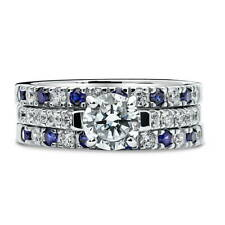 BERRICLE 925 Silver Cubic Zirconia CZ Solitaire Engagement Ring Set 2.02 Carat