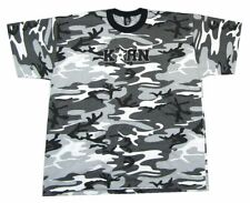KORN Star Logo Grey Camouflage All Over Print T Shirt New Official Band Merch