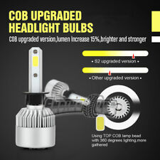 Great Promotion Price 2 x New H1 Car COB LED Headlight Kit Lights Lamps