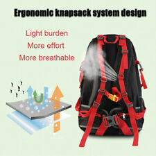 Outdoor Cycling Hiking Camping Rucksack Bag 50L Lightweight Traveling Backpack U