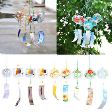 Wind Chimes Wind Bells Handmade Glass Patio and Garden Gift Home Japanese Style
