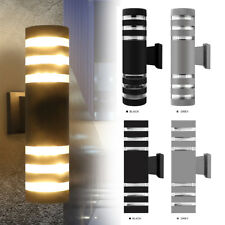 Modern LED Wall Light Up Down Indoor Outdoor Sconce Lighting Lamp Fixture 9W E27